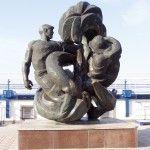 Памятник рыбакам в Бердянске