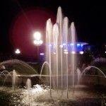 Ночные путешествия по Бердянску - Фонтан