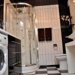 ванная комната в апартаментах гостиницы Бердянска