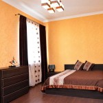 спальня в апартаментах отеля Бристоль