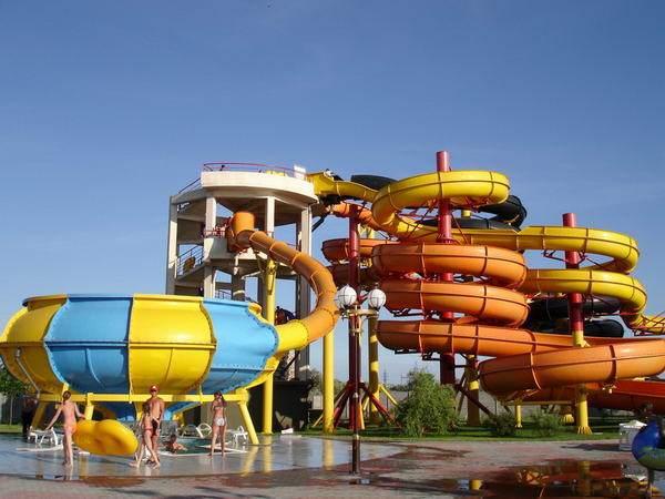 Бердянский аквапарк