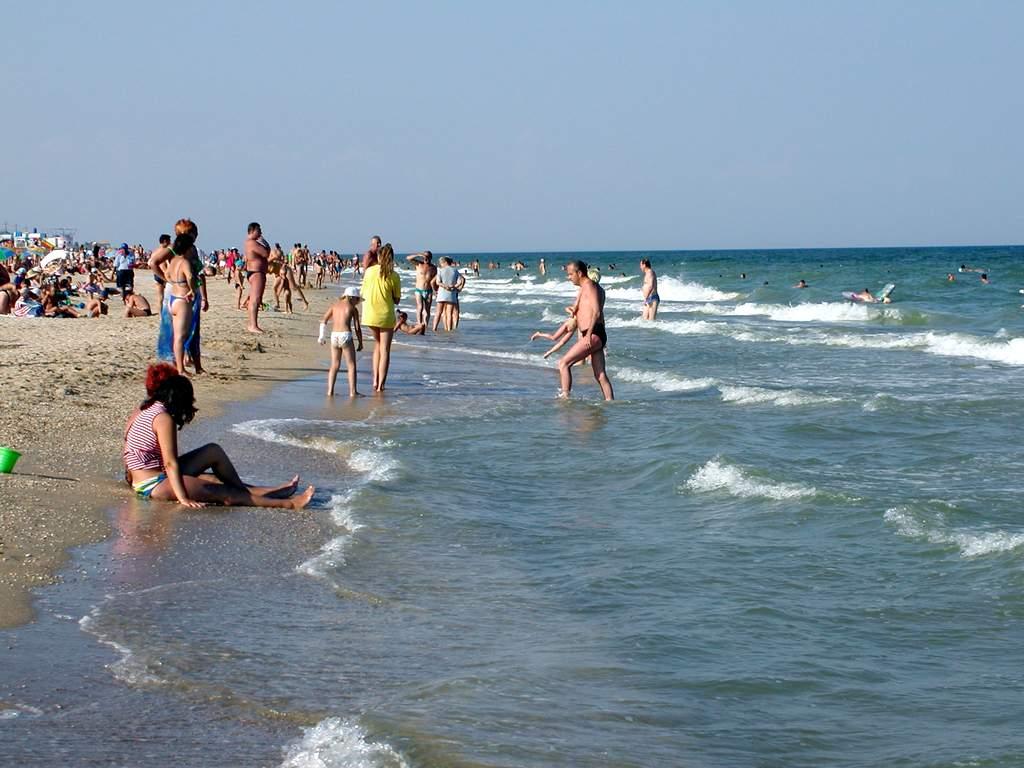 Теплый климат азовского моря