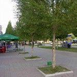 Центральная алея - Отдых в Бердянске