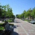 Центральный аллея- отдых в Бердянске