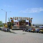 Аттракционы - отдых в Бердянске Приморская площадь