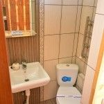 туалет в стандартном номере