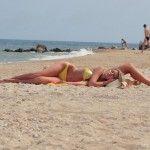 Отдых в Бердянске. Пляж